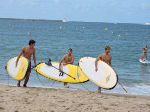 paddle board saint jean de luz
