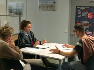 student interview training